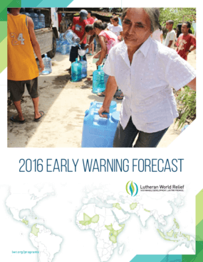 2016 Early Warning Forecast