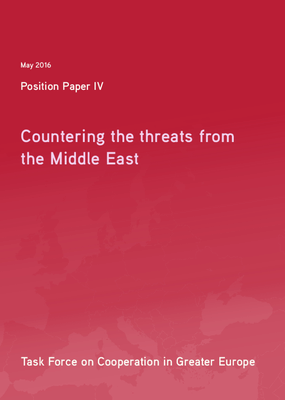 Position Paper IV: Countering the Threats from the Middle East