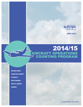 2014/15 Aircraft Operations Counting Program: Operations for Six Non-Towered Airports