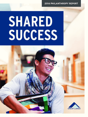 Shared Success: Great Lakes 2016 Philanthropy Report