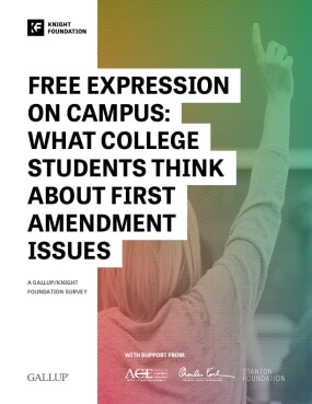 Free Expression on Campus: What College Students Think about First Amendment Issues