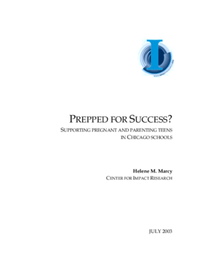 Prepped for Success? Supporting Pregnant and Parenting Teens in Chicago Schools